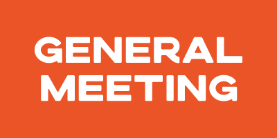 General Meeting – 4th Nov 2020